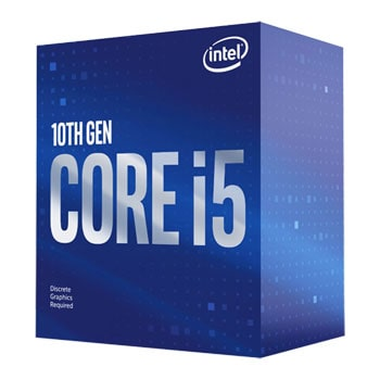 Intel Core i5-10400F 4.3GHz, 6-cores